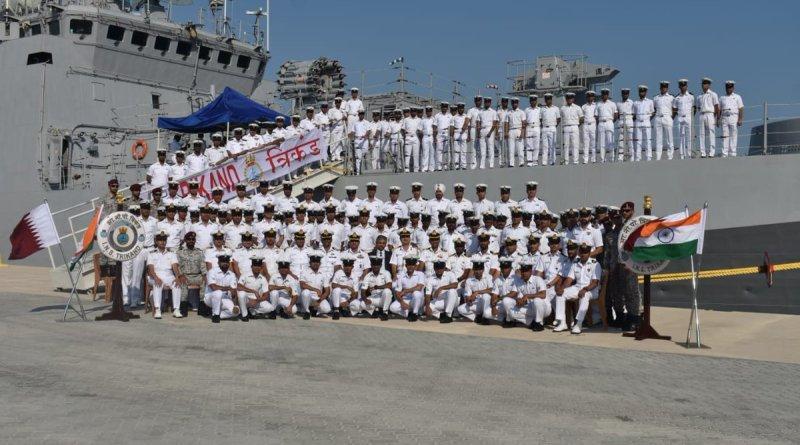 1st Indo-Qatari joint Naval Exercise Za'ir-Al-Bahr begins in Doha, Qatar_40.1