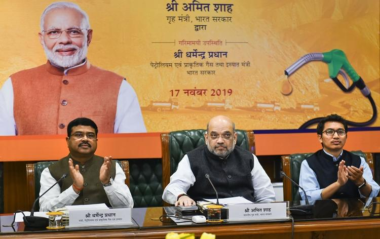 Amit Shah launches special winter-grade diesel for Ladakh_40.1