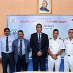 GRSE delivers ICGS 'Amrit Kaur to Indian Coast Guard