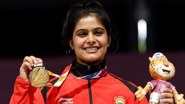 Manu Bhaker bags gold medal in ISSF World Cup Finals_40.1