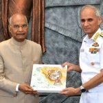Indian Naval Academy awarded President's Colour