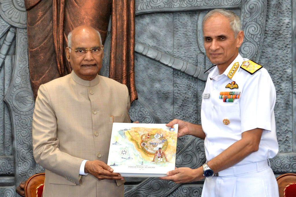 Indian Naval Academy awarded President's Colour_40.1