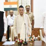 Devendra Fadnavis takes oath as CM of Maharashtra