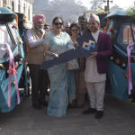 Indian Women's Association donates two electric vehicles in Nepal