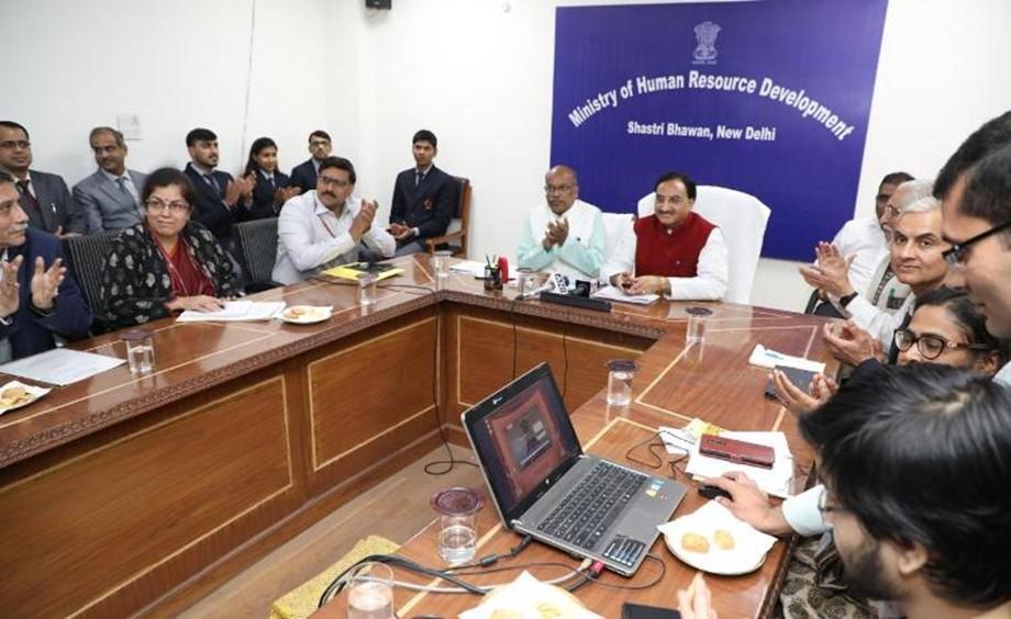 HRD Ministry launches Kartavya Portal_40.1