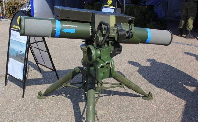 Indian Army successfully test-fired 2 Spike LR missile in MP_40.1
