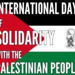 International Day of Solidarity with the Palestinian People: 29 November