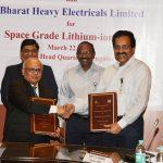 ISRO transfer space-grade Li-Ion cell technology to BHEL