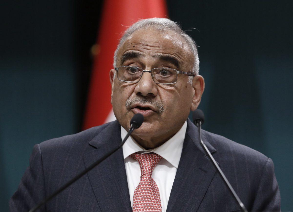 Iraq Prime Minister Adel Abdul Mahdi Resigns_40.1
