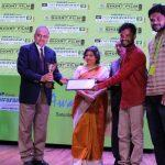 Awards given for short film competition on environment