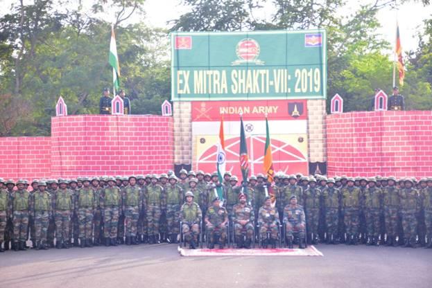 """India-Sri Lanka joint exercise """"MITRA SHAKTI"""" begins_40.1"""