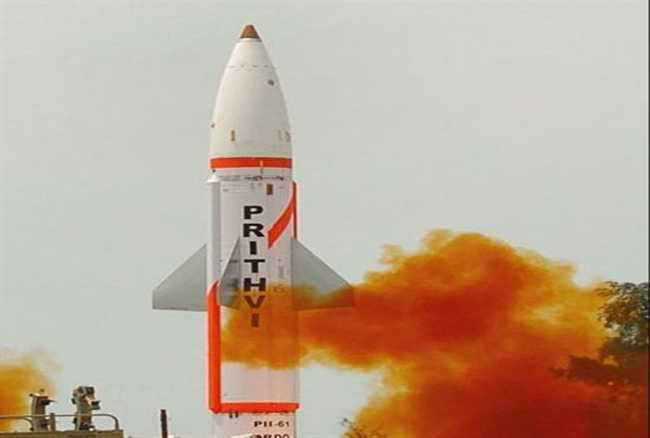 India successfully test-fires indigenously developed nuke-capable Prithvi-II missile_40.1