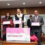 VP Naidu launches new Rotavirus vaccine: ROTAVAC-5D
