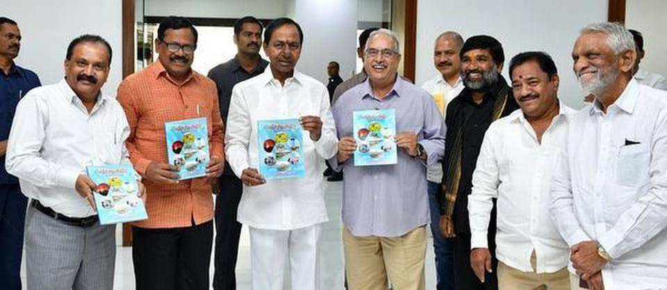 Telangana CM releases book on Kaleswaram project_40.1