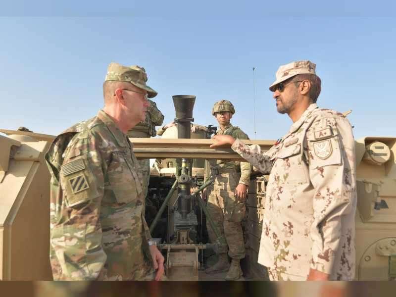 UAE, US joint military exercise 'Iron Union 12'commences_40.1