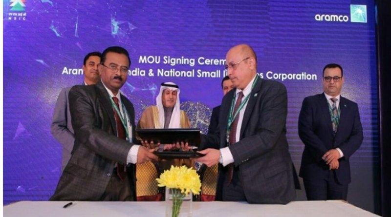 MOU signed Between NSIC & ARAMCO Asia for development in Oil & Gas Sectors_40.1