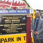 Multi Cell Box Type Load Class 70 bridge inaugurated in Rajouri