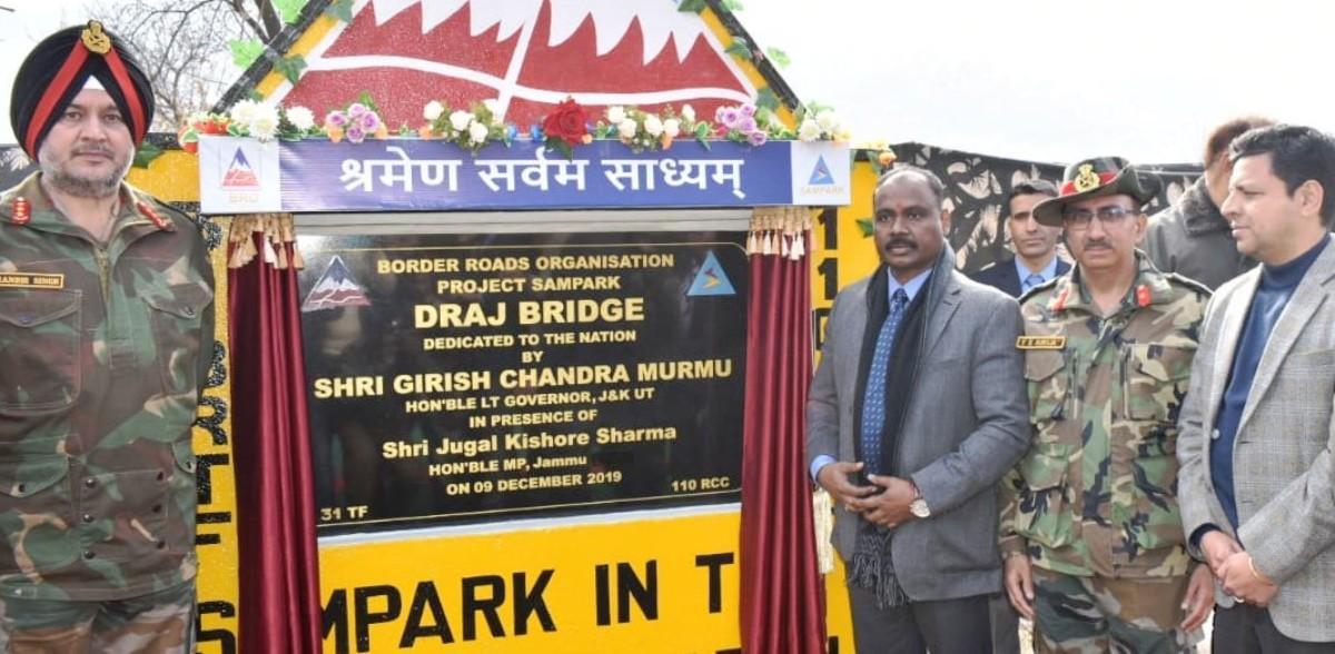 Multi Cell Box Type Load Class 70 bridge inaugurated in Rajouri_40.1