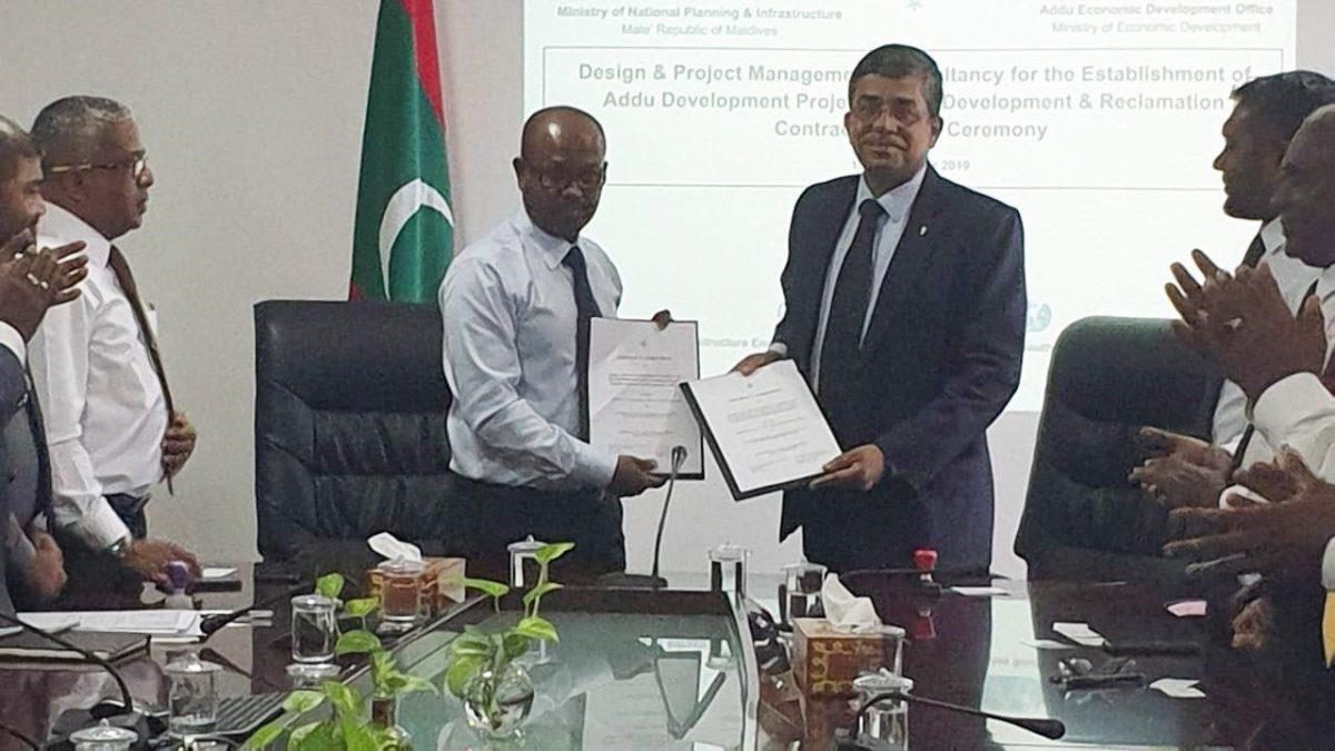 Maldives signs contract with JV of Indian companies for development of Addu_40.1
