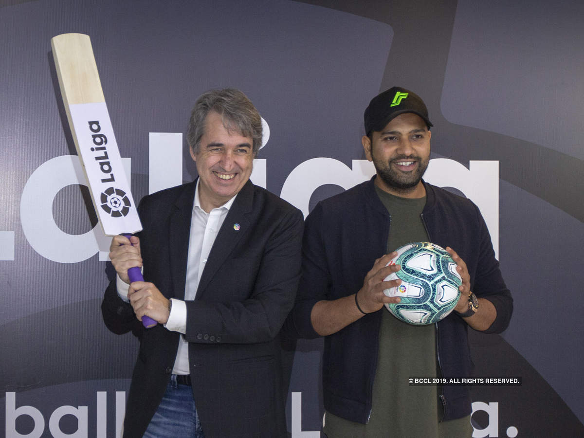 Rohit Sharma becomes brand ambassador of La Liga in India_40.1