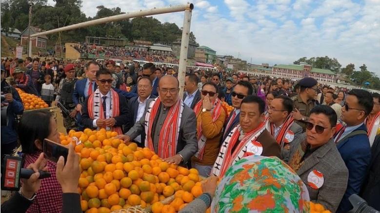 Orange festival begins in Manipur_40.1