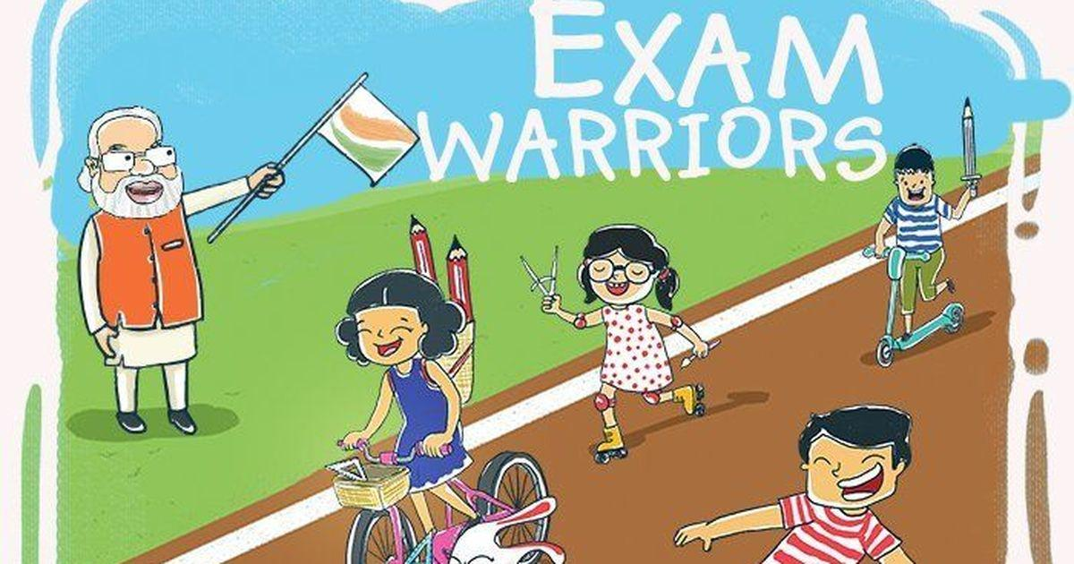 Thawarchand Gehlot launches Braille version of 'Exam Warriors'_40.1