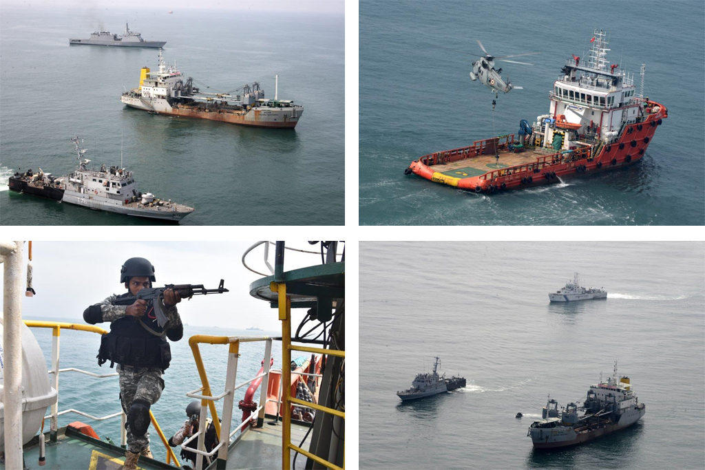 Anti-hijacking exercise conducted in Kochi port_40.1