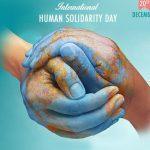International Human Solidarity Day: 20 December