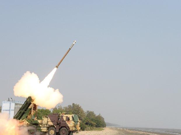 Upgraded version of Pinaka Rocket successfully test-fired off Odisha coast_40.1