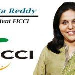 Sangita Reddy appointed as the President of FICCI for 2019-20