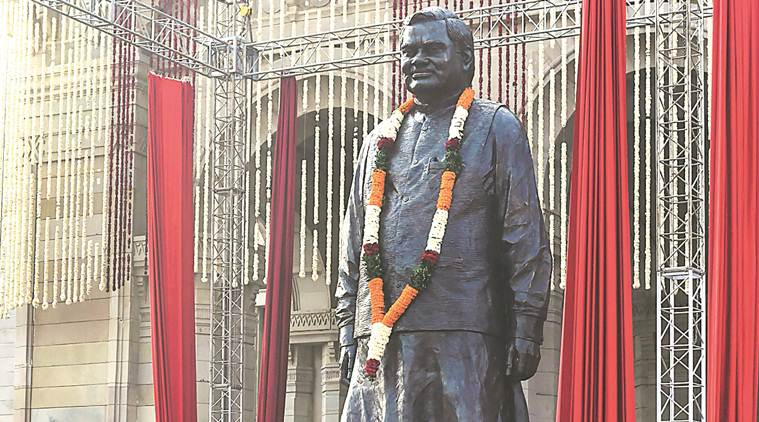 PM Modi unveiled Atal Bihari Vajpayee statue in Lucknow_40.1