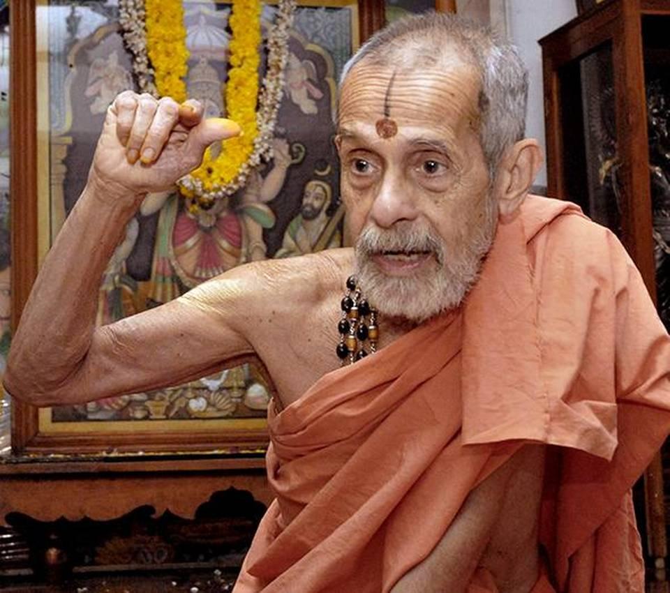 Vishwesha Tirtha Swami of Pejawar Mutt passes away_40.1