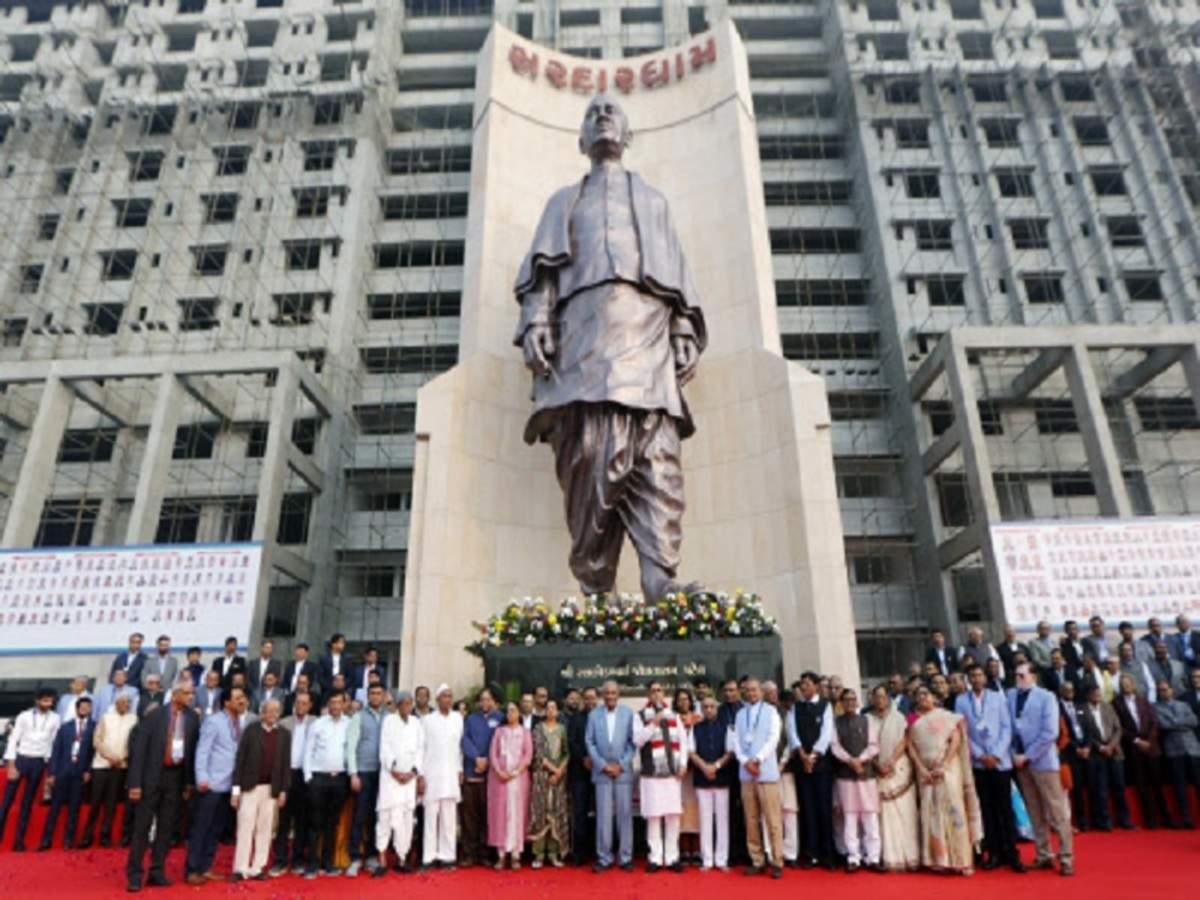 Gujarat CM unveils world's 2nd tallest statue of Sardar Vallabhbhai Patel_40.1