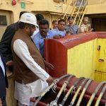 Works on laying of submarine cables between Chennai-A&N Islands inaugurates