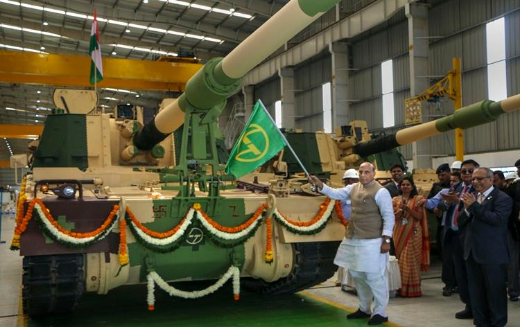 Defence Minister dedicates 51st K9 Vajra-T guns to nation_40.1