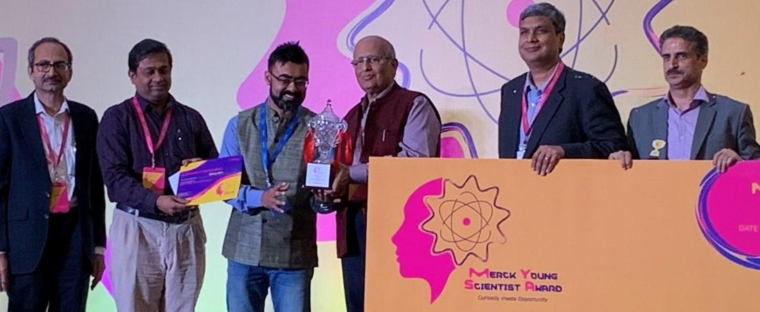 "Indian scientist Sakya Singha Sen awarded ""Merck Young Scientist Award 2019_40.1"