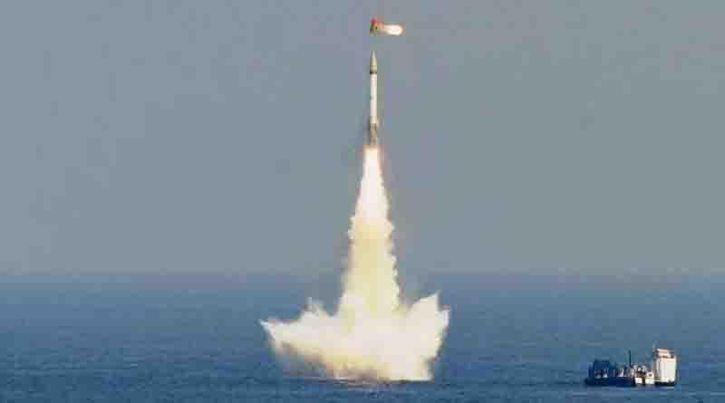 Andhra Pradesh Coast: India successfully test-fires K-4 Ballistic Missile_40.1
