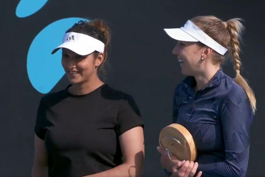 Sania Mirza and Nadiia Kichenok wins WTA doubles title in Australia_40.1