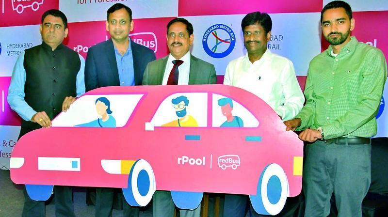 Hyderabad Metro partners redBus to start carpool services_40.1