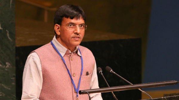 Union Minister Mansukh Mandaviya participate at UNAIDS Programme_40.1