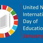 International Day of Education celebrated globally on 24th January