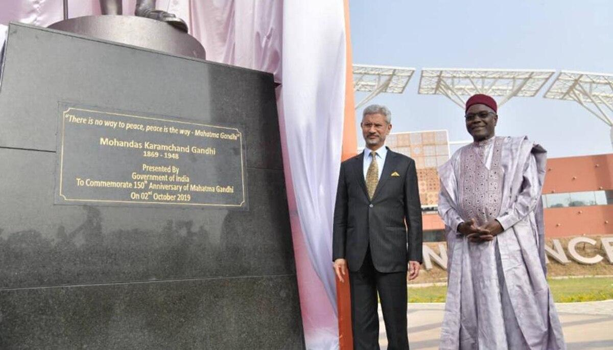 India's 1st Mahatma Gandhi convention centre opens in Niger_40.1
