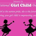 India celebrates National Girl Child Day on 24th January