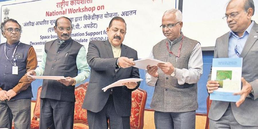 GOI launches Bhuvan Panchayat V3 web Portal developed by ISRO_40.1