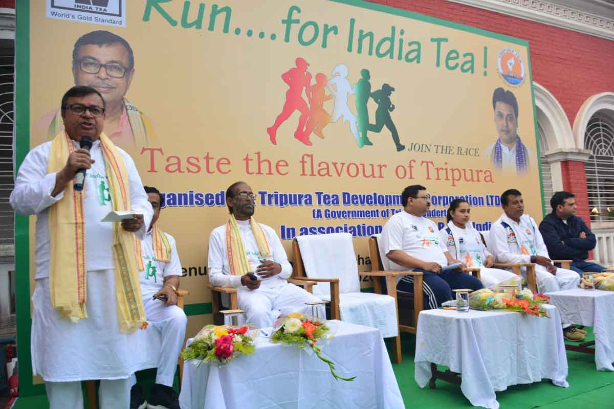 'Run for India Tea' event organized by Tripura Tea Board_40.1