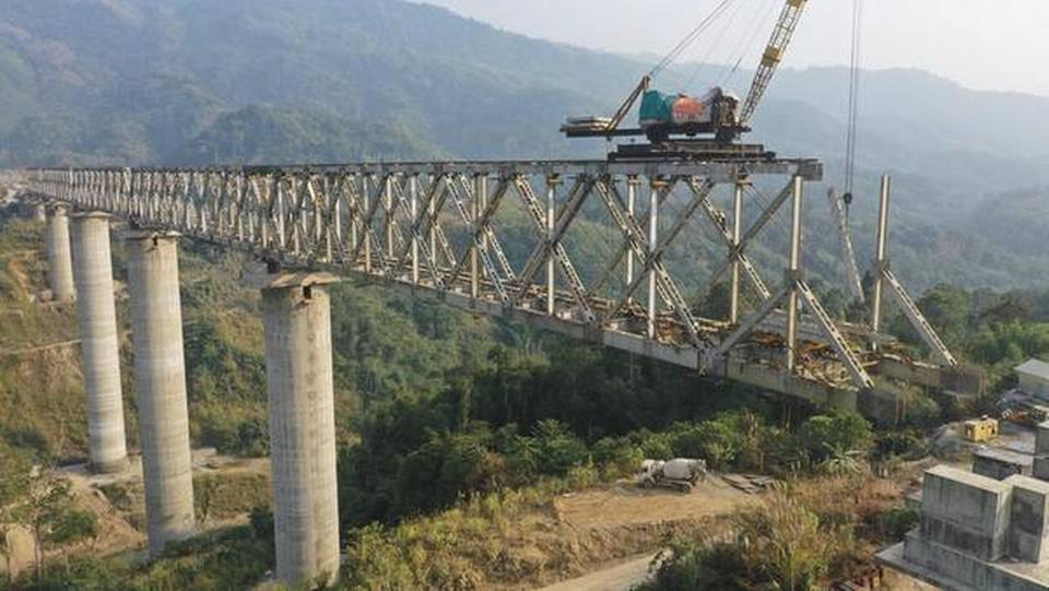 Northeast Frontier Railway builds India's tallest pier bridge in Manipur_40.1