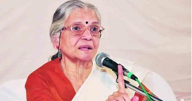 Veteran social activist and feminist writer Vidya Bal passes away_40.1