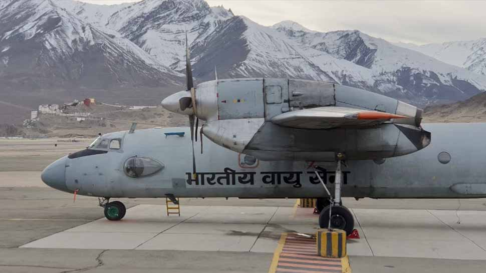 1st indigenous bio-jet fuel aircraft of IAF landed successfully in Leh_40.1