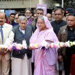 "Bangladesh's PM Sheikh Hasina inaugurates ""Ekushey Book Fair"""