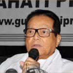 Former Assam Speaker Pranab Kumar Gogoi passes away